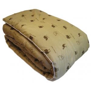 одеяло 2-х сп. верблюд зимнее